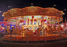 A Traditional fairground carousel