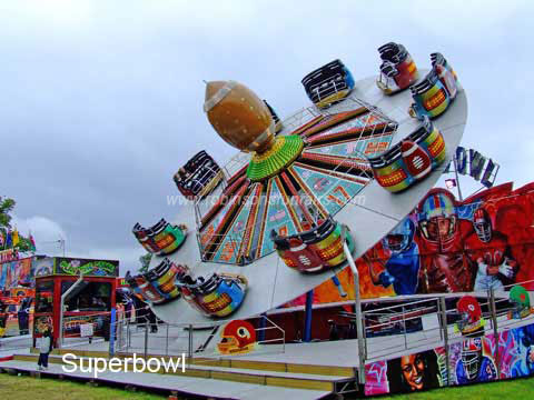 Superbowl Ride at Keighley, Yorkshire