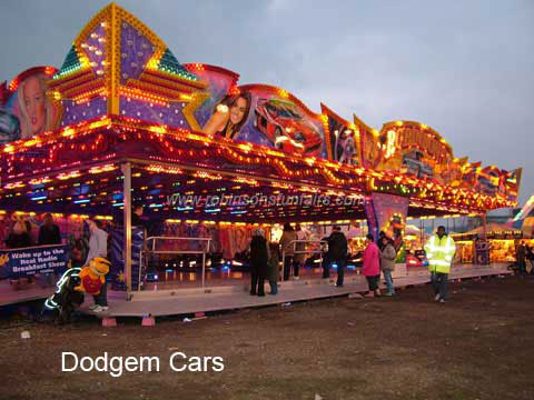 Stewart Robinson's Adesko Dodgems at Leeds Valentines Fair