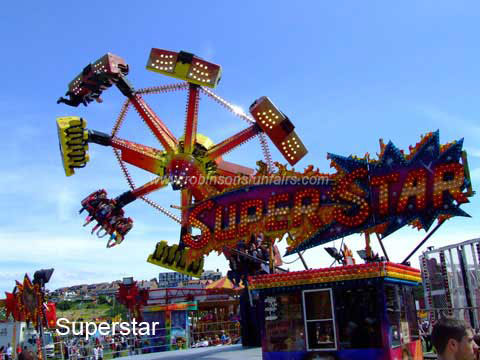 Superstar at Wirral Show, New Brighton