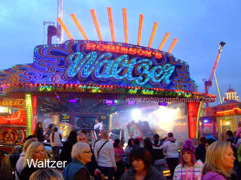 Stewart Robinson's Waltzer at Hull Fair thumbnail image