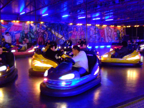 Stewart Robinson's Adesko Dodgems at Hull Fair