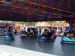 Dodgem cars at Newcsatle town moor fair